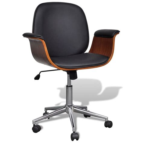 swivel office chair vidaxl co uk adjustable swivel office chair artificial