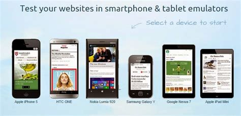 emulator mobile best mobile emulators to test your websites web