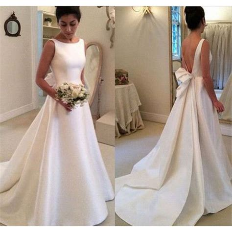 Satin Wedding Dresses by Classic Wedding Dress Satin Wedding Dresses A Line