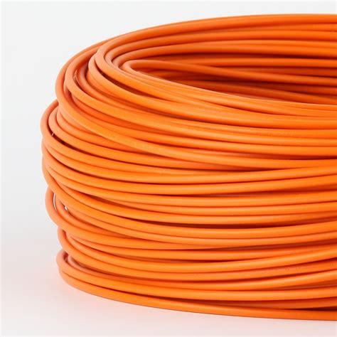 Federal Kabel Nyaf 1x0 75 1x0 75 mm 178 aderleitung h05v k orange nya f flexibel 18 95