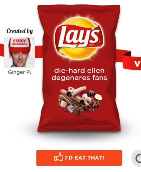 Lays Sweepstakes - 22 awesome new flavors from the create your own lays contest ned hardy ned hardy