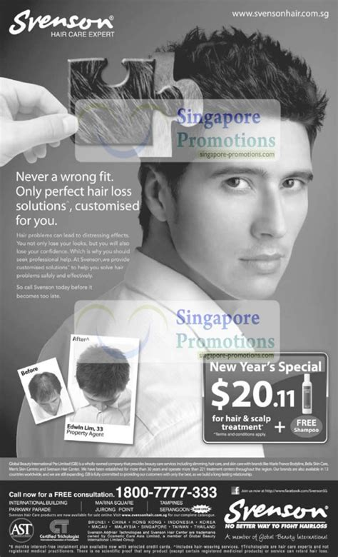 new year hair promotion svenson hair care expert new year promotion january 2011