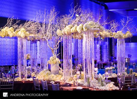 Crystal Centerpieces   St. Simons Wedding Planner