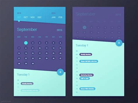 calendar design in android 25 best ideas about calendar app on pinterest ui design