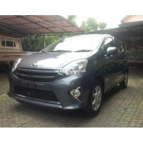 2016 Toyota Agya G 1 0 M T mobil toyota agya 1 0 g manual tahun 2016 grey second