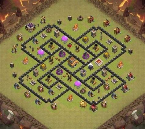 75 best images about kumpulan base th coc november 2015 on clash of clans