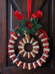 wine cork diy wine cork christmas wreath