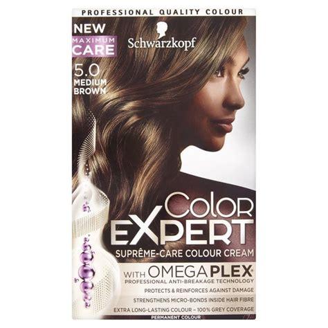 how to mix schwarzkopf hair color schwarzkopf color expert 5 0 medium brown hair dye from ocado