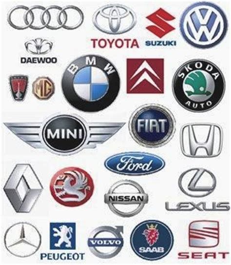 motor vehicle badges blue bird of a legend marque heraldic symbols cars