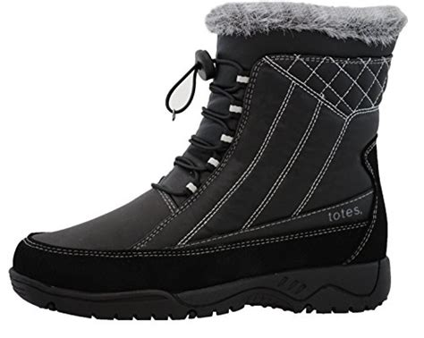 totes womens snow boot available in medium and wide