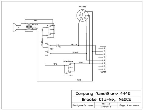 3 wire microphone wiring diagrams get free image about