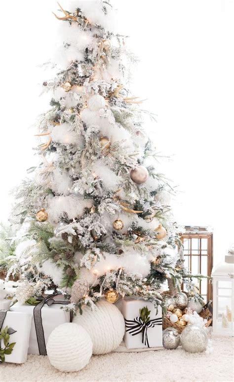 best 25 flocked christmas trees ideas on pinterest