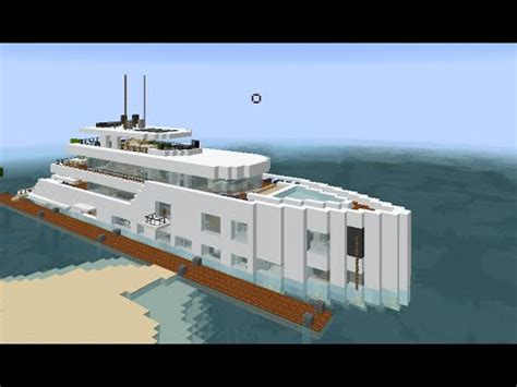 how to make a big yacht in minecraft minecraft amazing perfect top best modern luxury sporty