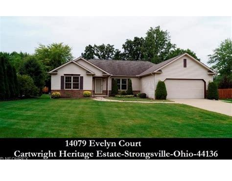 houses for sale strongsville ohio cleveland ohio homes for sale 14079 evelyn ct 44136