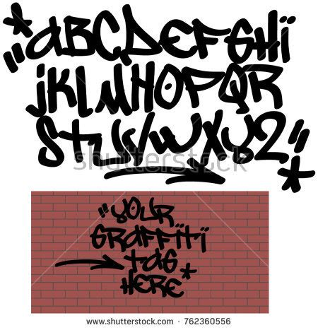 graffiti tag wallpaper maker 1mobile com spray graffiti tagging font signs star stock vector