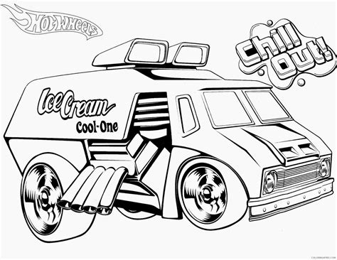 coloring pages of hot cars hot wheels coloring pages big hotrod car coloring4free