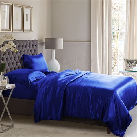 blue satin comforter royal blue silk bed linen from the finest mulberry silk