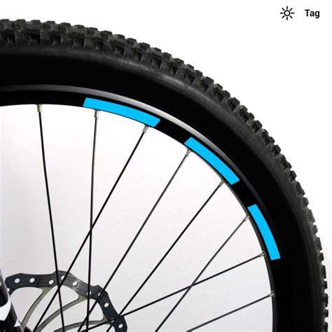Aufkleber Set Mountainbike by Reflektor Aufkleber Set 10mm F 252 R Mountainbike Hellblau
