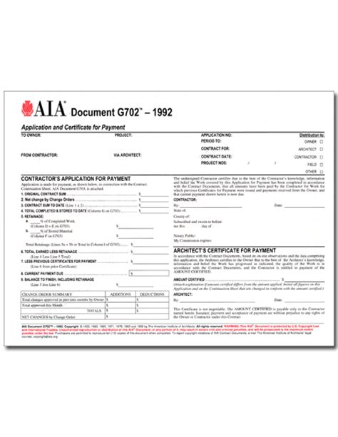 aia contract template null