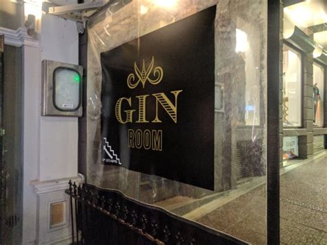 The Gin Room by Sign Outside Picture Of The Gin Room Auckland Central