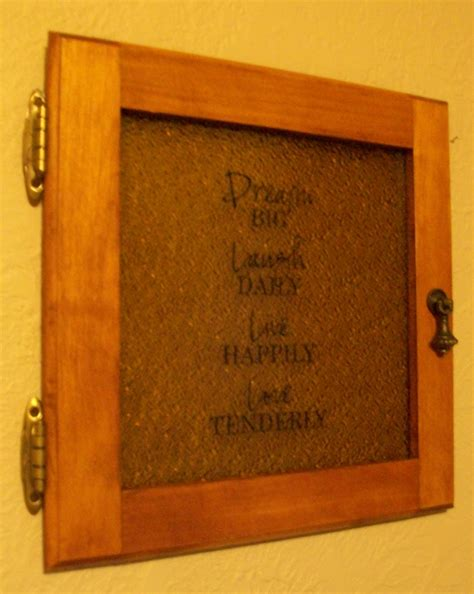 building simple cabinet doors upcycled cabinet door with vinyl quote diy bexbernard