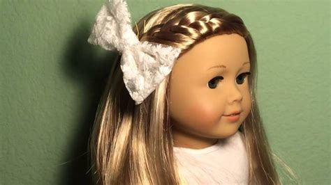 Doll Hairstyles Easy by Easy Hairstyles For Ag Dolls 18 Quot Dolls Fashion