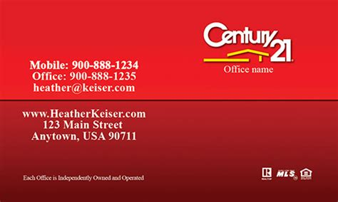 century 21 business cards template century 21 business card with realtor photo design 102372