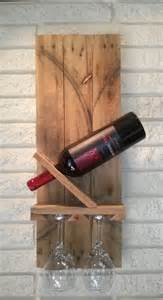 Pallet ideas with wine bottles and glasses search pictures photos