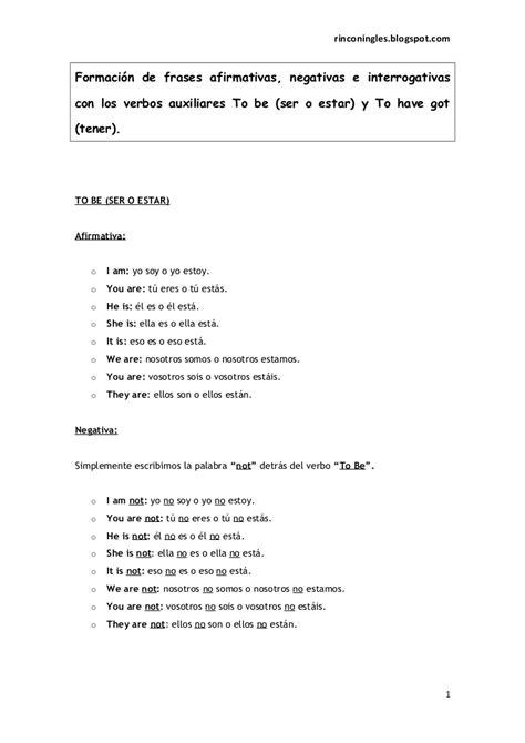 preguntas con will afirmativas y negativas formaci 243 n de frases afirmativas negativas e