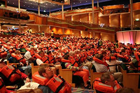 Muster Drill What To Expect On A Cruise Day Onboard Cruise Critic