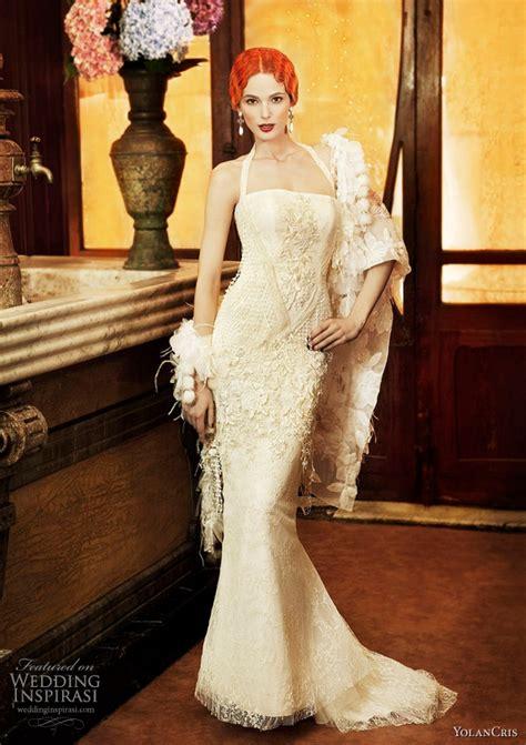 Syafa Dress Bd by Yolan Cris Wedding Dress 2011 Bakımlı Kadın Bakımlı Kadın