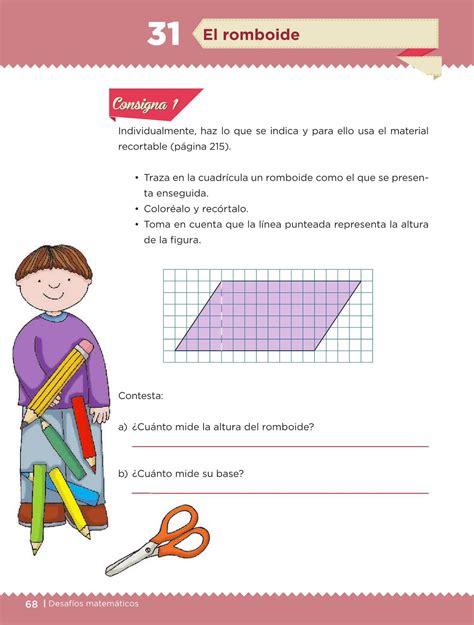 el libro de desafios matematicos de quinto grado contestado desaf 237 os matem 225 ticos libro para el alumno quinto grado