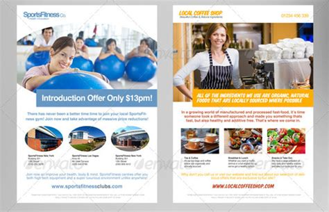 advertisement template advertising design template 56 free psd format