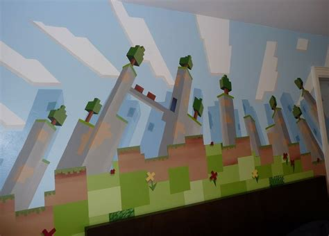 Minecraft Bedroom Murals 93 Best Images About Max Minecraft Bedroom Ideas On