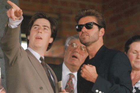 george michael s father the day george michael toasted his 30th birthday at