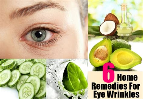 6 effective home remedies for eye wrinkles