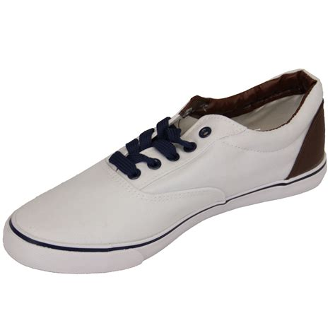 mens pumps rock religion trainers striped spotted denim