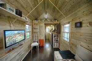 the tiny tack house wooden mobile home built trailer bed flatbed