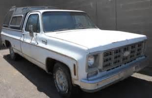 Chevrolet C10 Parts 1977 Chevy Truck C10 Silverado Parts Or Restoration