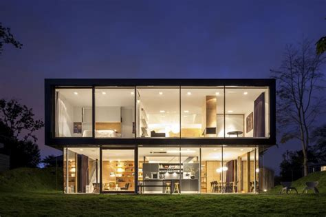 modern home exterior villa v by paul de ruiter architects