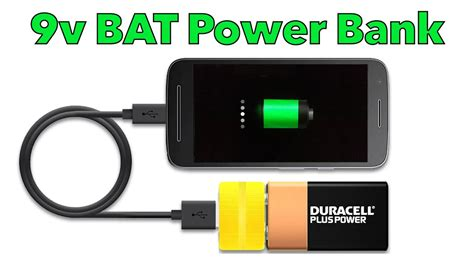 membuat power bank 9 v how to make a simple power bank youtube