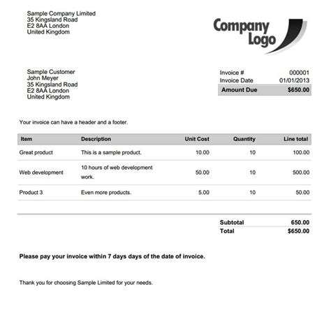 advanced invoice delivery pdf template builder pro
