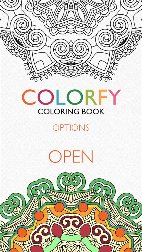 coloring books for adults app colorfy coloring book for adults free apps 148apps