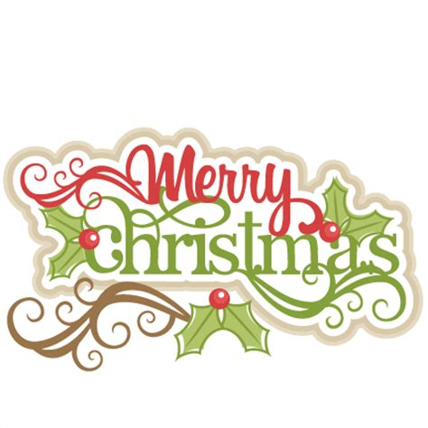 merry christmas titles merry svg scrapbook title cut outs for cricut svg cut files free svgs