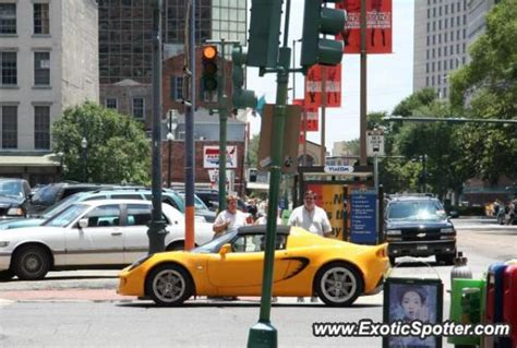 lotus new orleans lotus elise spotted in new orleans louisiana on 07 08 2005