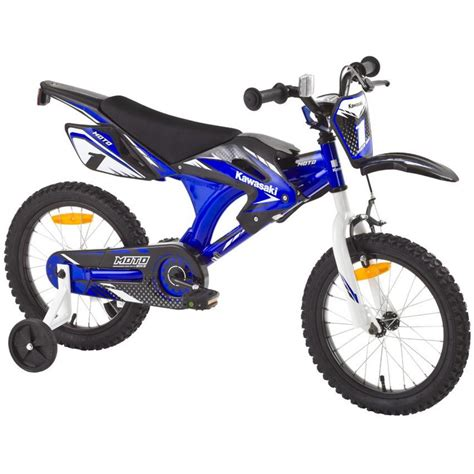 kinderfahrrad kawasaki moto  zoll kinder fahrrad gruen