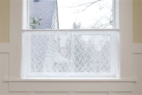 lace curtain patterns dappled lace caf 233 curtain pattern knitting patterns and