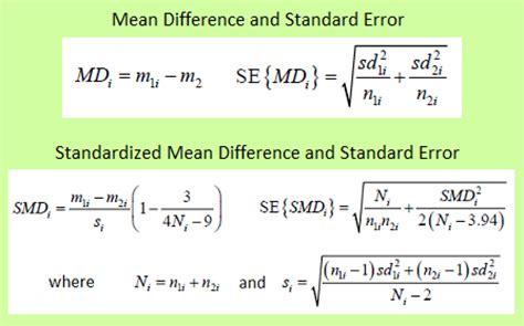design effect standard error meta analysis is a summary analysis of more studies ecstep
