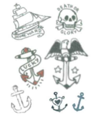 small sailor tattoos small sailor set tattooednow ltd