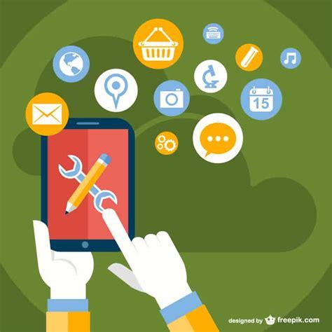 app design vector download free vector app designs design crawl